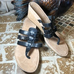 UGG leather sandals size 9 never worn